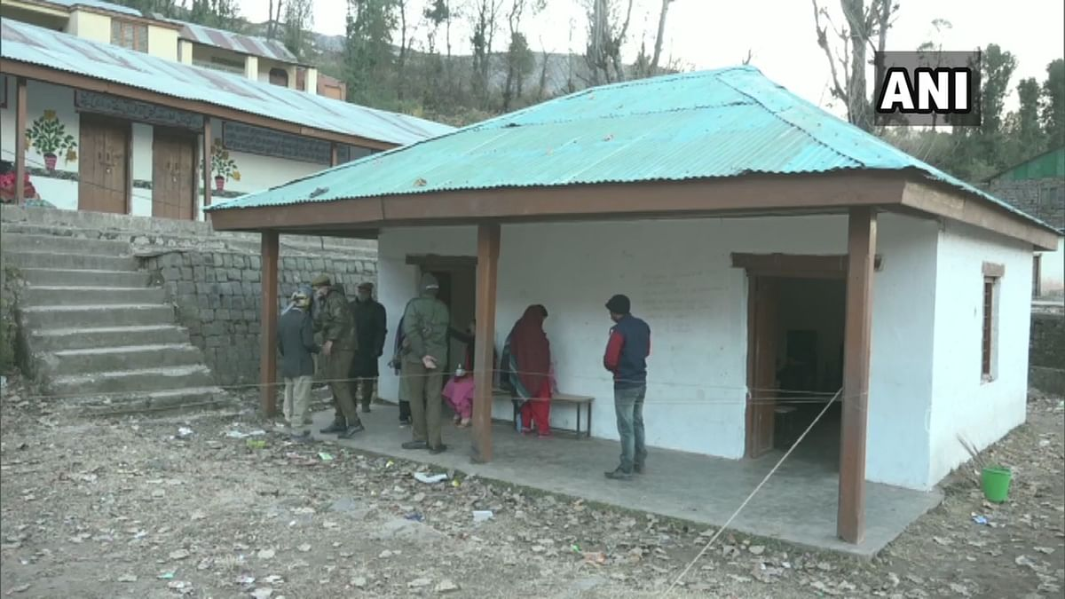 Voting underway in 2nd phase of DDC polls in Jammu and Kashmir