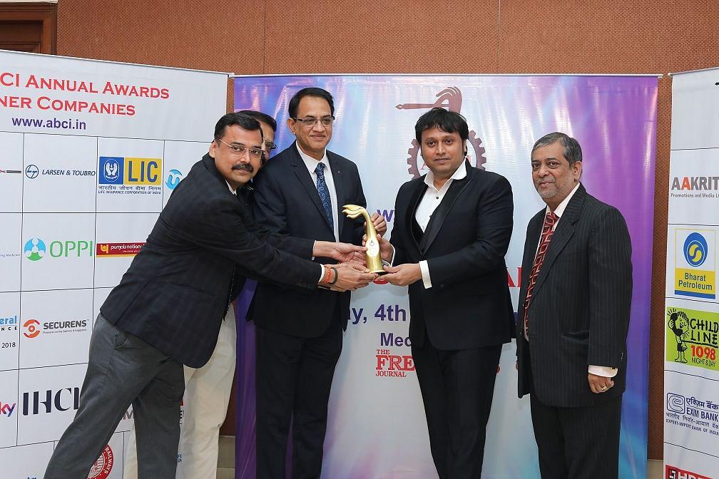 Bank Of India bags an award