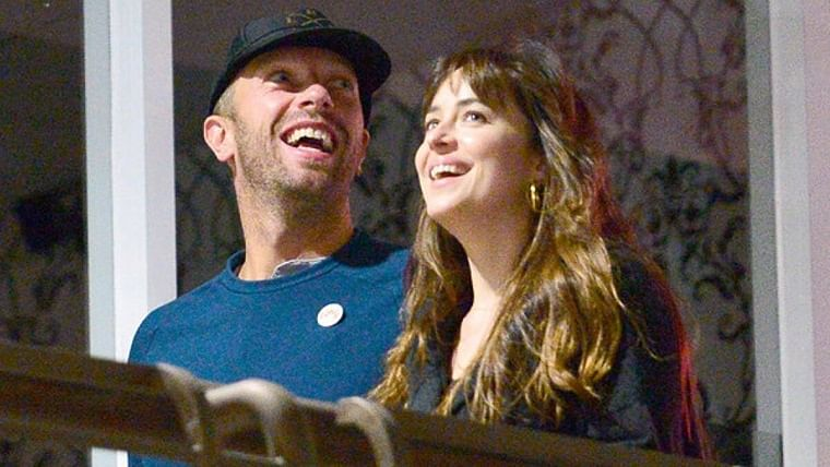 Are 'Fifty Shades of Grey' star Dakota Johnson and Coldplay frontman Chris Martin engaged?