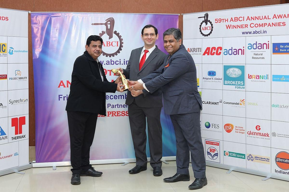 EXIM Bank bags an award