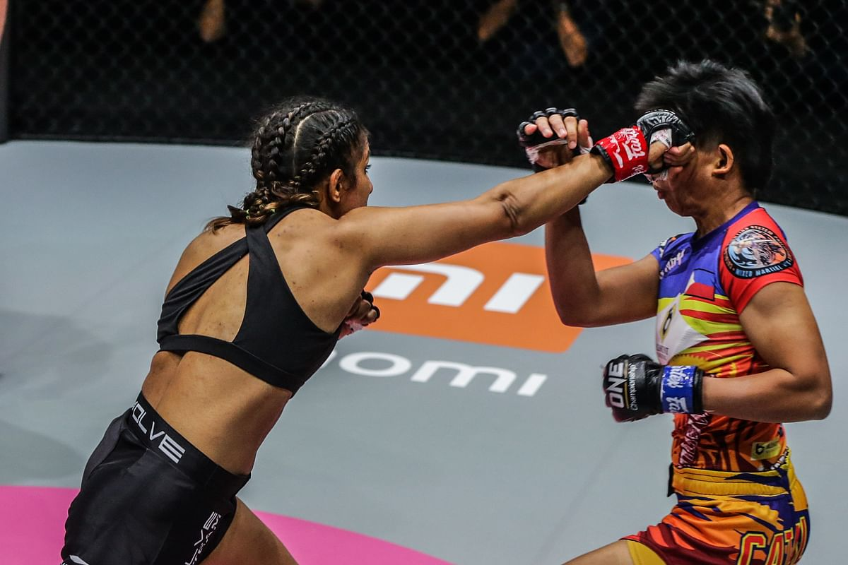 Ritu Phogat successfully vanquishes Jomary Torres at ONE: BIG BANG