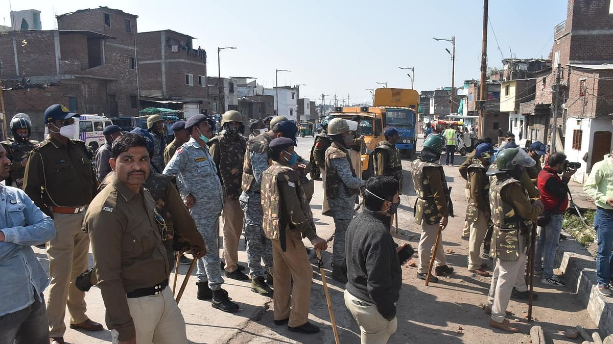 Houses of alleged stone pelters being razed