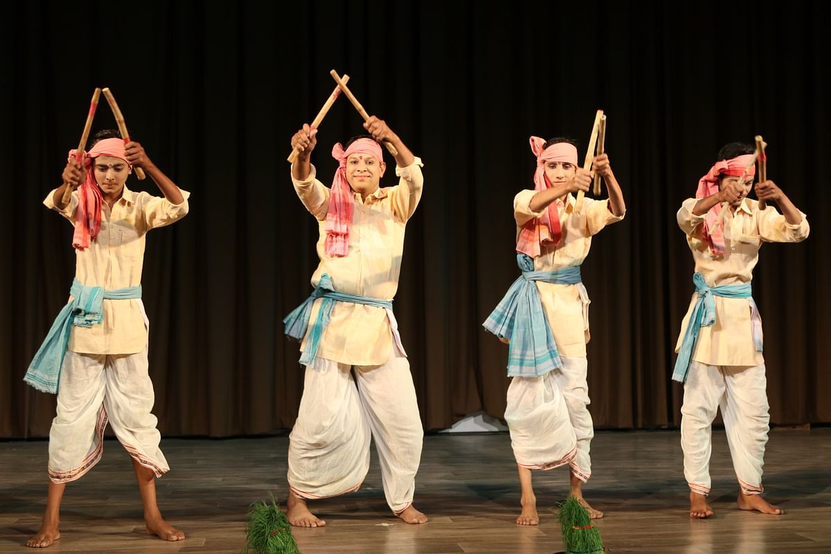 Bhopal: Awadhi folk songs, Danda and Gair delight audience at Gamak-4