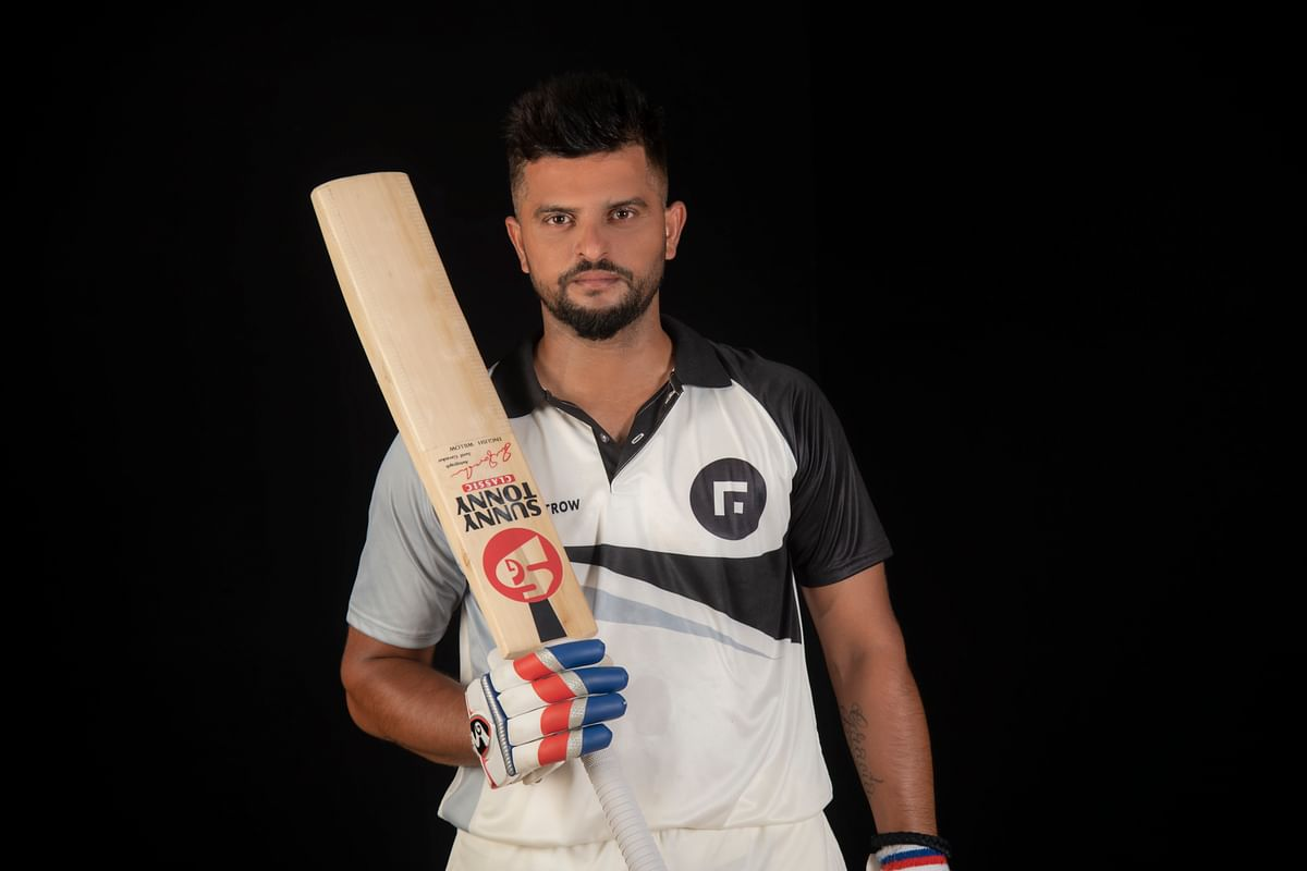 Suresh Raina offers skill enhancing modules on newly launched website