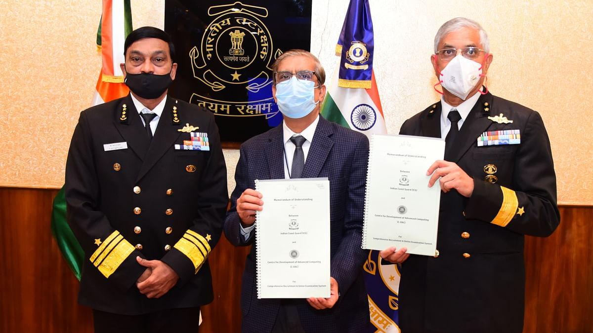 India Coast Guard launches website to conduct online recruitment