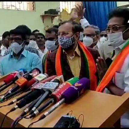 Setback to Kamal Haasan as Makkal Needhi Maiam leader A Arunachalam joins BJP ahead of Tamil Nadu Polls
