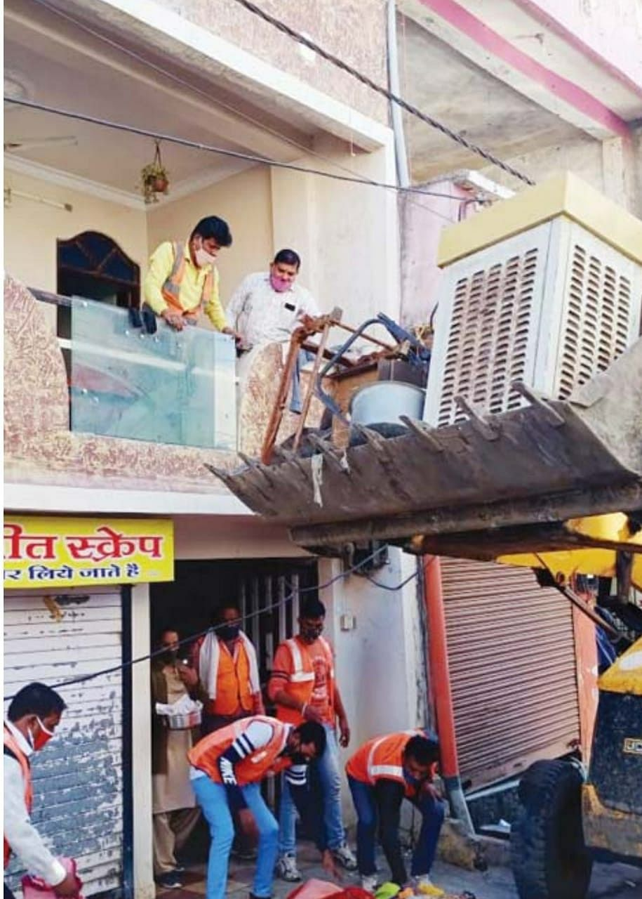 Indore: Lady don Alka's illegal building demolished