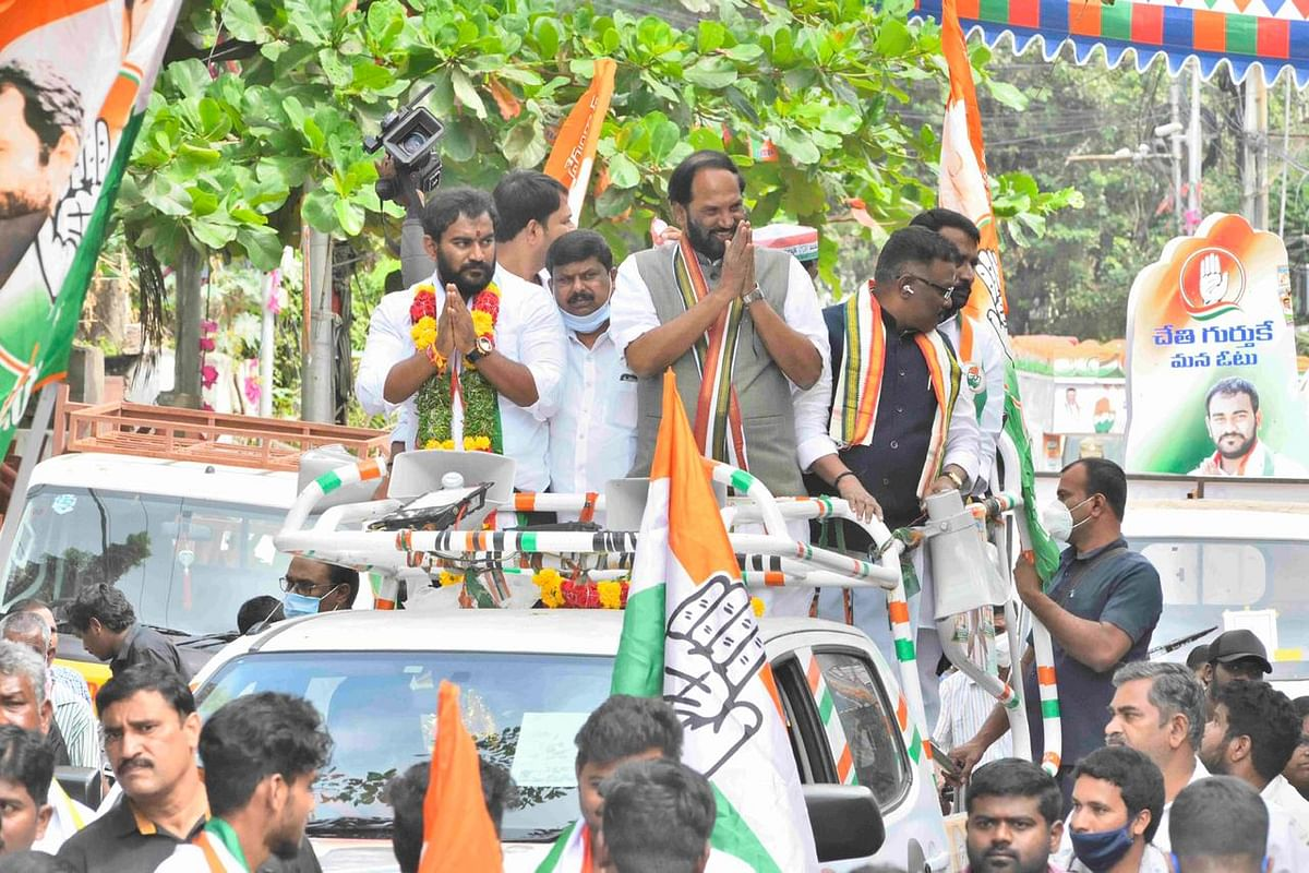 Telangana Congress President N Uttam Kumar Reddy resigns after party's poor show in GHMC polls