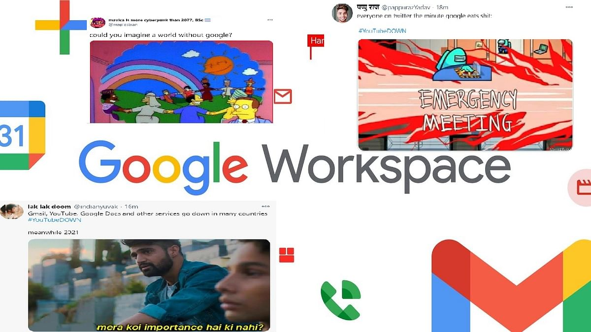 Google services including YouTube, Gmail face global outage: Best memes and jokes