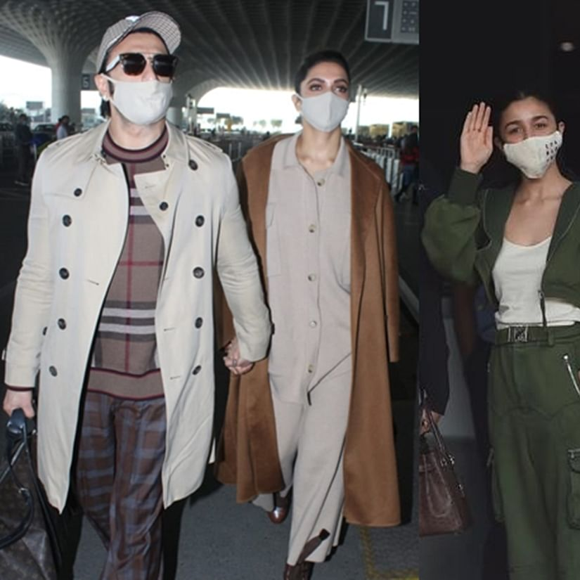 In Pics: Power couples Ranveer-Deepika, Ranbir-Alia jet-off for New Year vacay