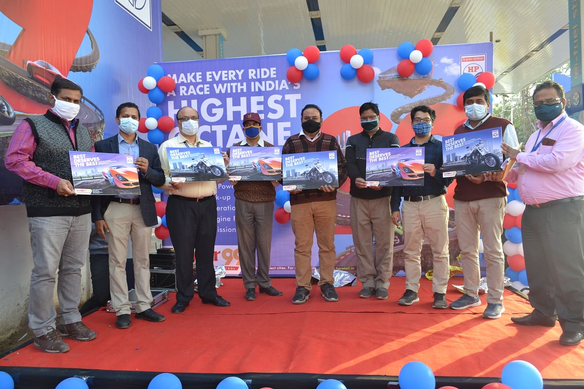 HPCL launches High Octane rating petrol, 'poWer 99' in Jodhpur