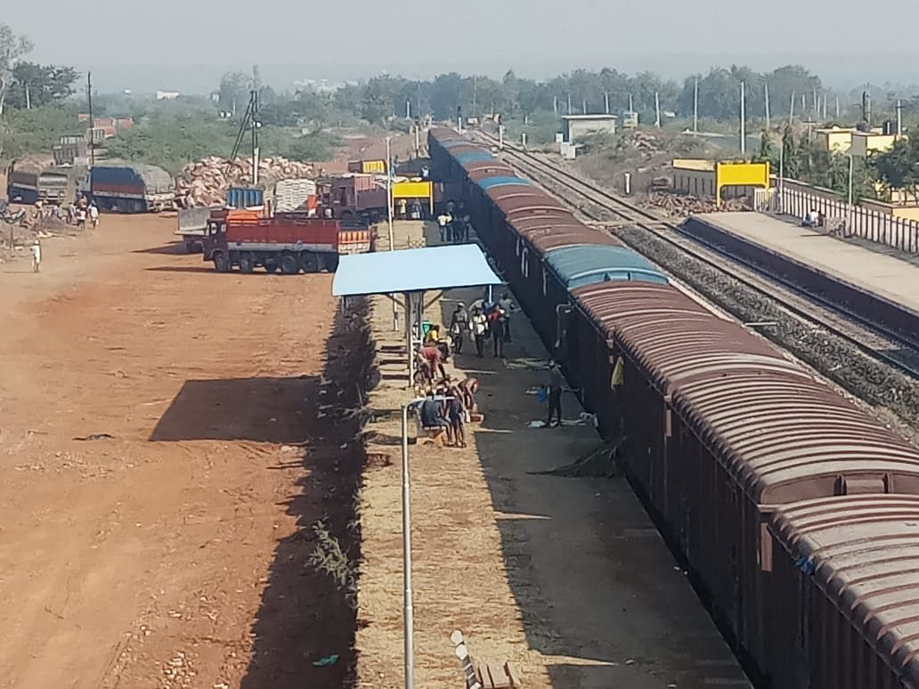 South Western Railway transports sugar from Badami to Assam and West Bengal