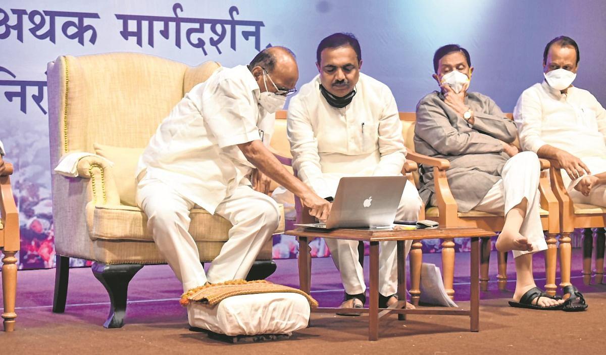 Sharad Pawar:  Time to practise thoughts of Ambedkar, Phule & Shahu Maharaj