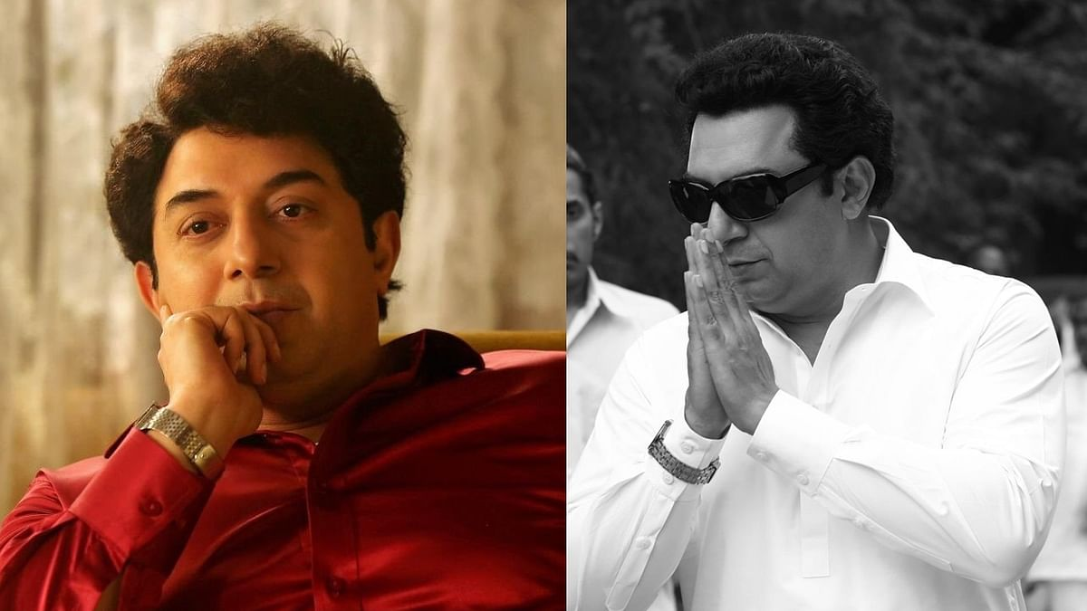 Makers of 'Thalaivi' share Arvind Swami's new look as MGR on his death anniversary