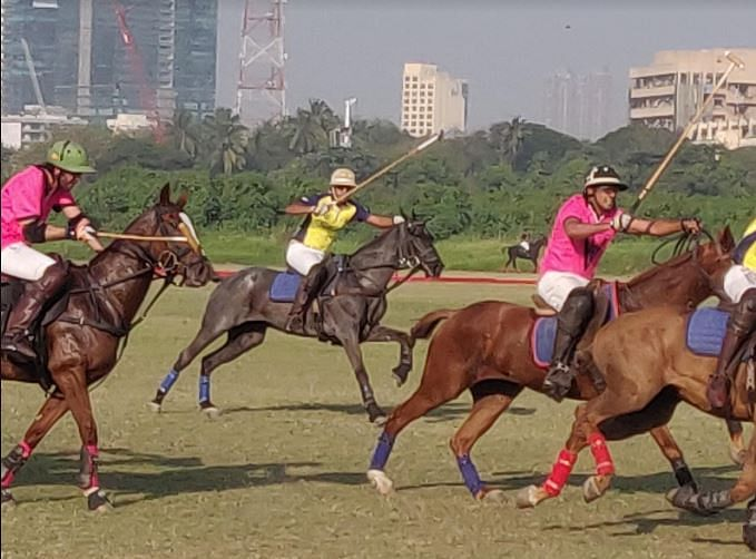 Up and going Polo event gets underway at the Mahalaxmi race course