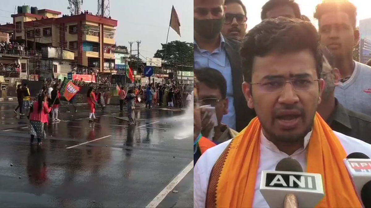 Tejasvi Surya blames 'Mamata's police' for alleged death of BJP worker after clash in north Bengal