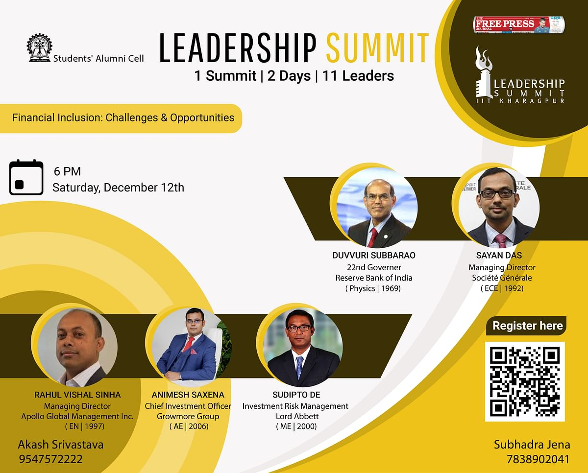 IIT Kharagpur presents the first session of Leadership Summit 2020