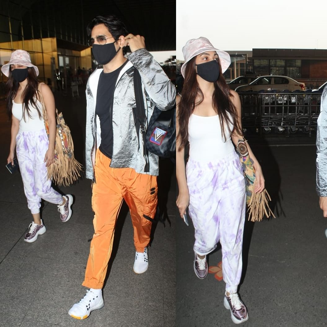 In Pics: Rumoured lovebirds Kiara Advani-Sidharth Malhotra jet-off to celebrate New Year 2021