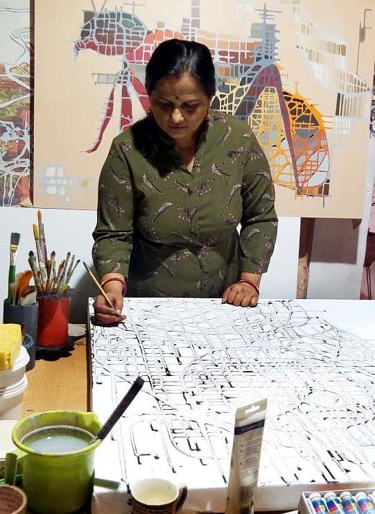 Bhopal artist Vandna Nayak