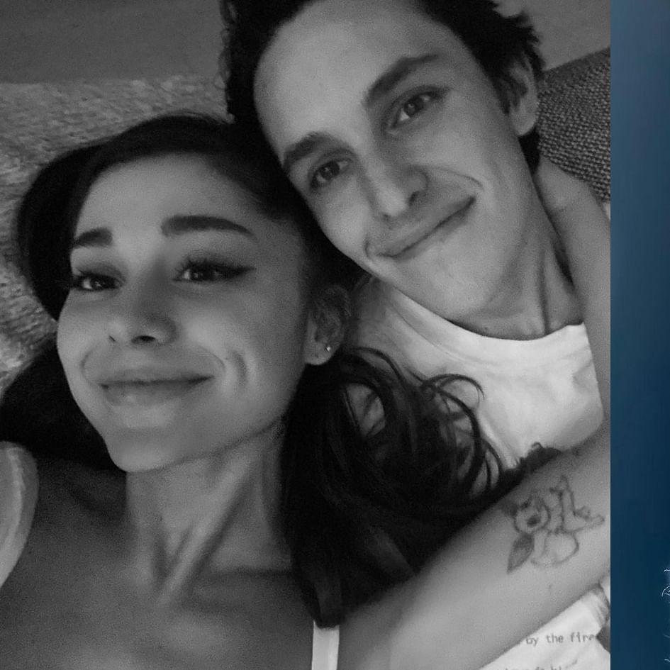 Ariana Grande confirms engagement with boyfriend Dalton Gomez; shows off huge diamond ring