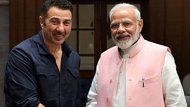 Sunny Deol with PM Narendra Modi