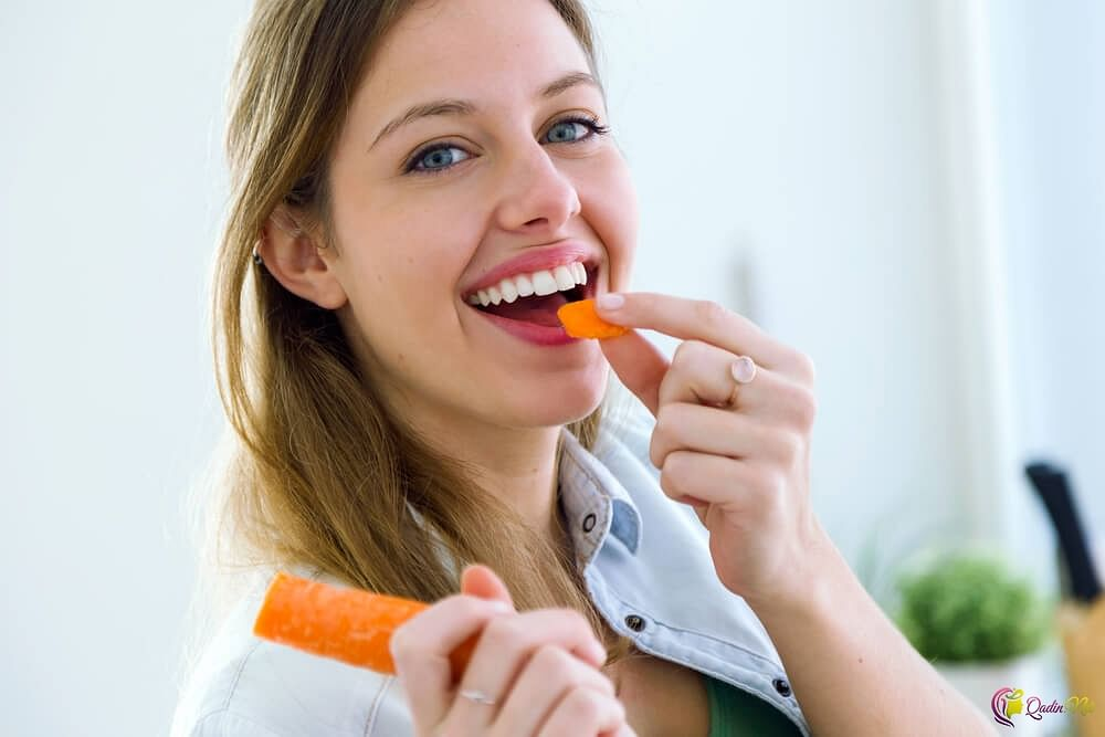 Eating carrots is good for your heart