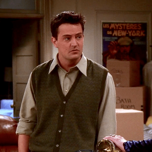 Matthew Perry releases 'Friends'-inspired clothing line for charity