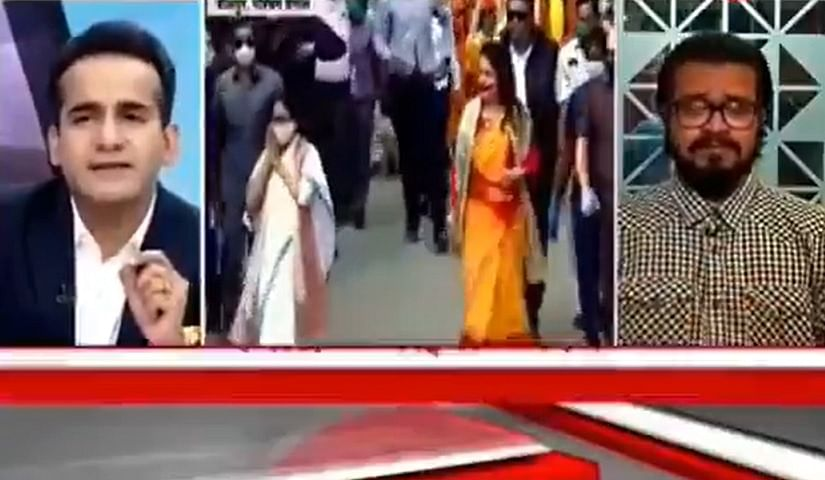 'Bas itna confidence chahiye': TV anchor trolled after berating panellist for calling Rabindranath Tagore 'Thakur'