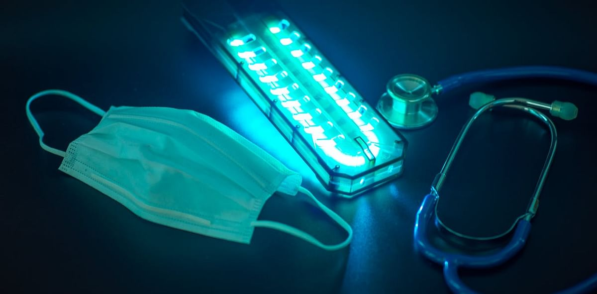 COVID-19: UV light may be used to sterilise high-risk indoor environments