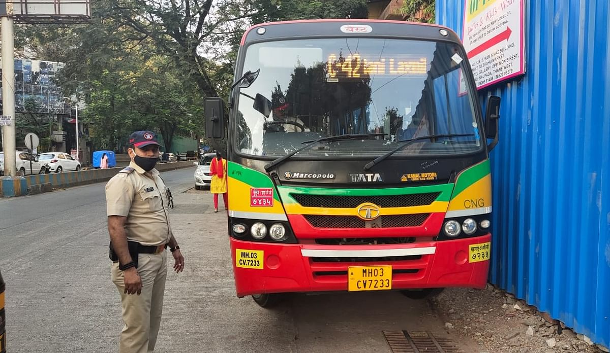35-year-old woman dies after being hit by BEST bus in Thane