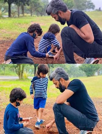 Riteish Deshmukh Birthday Special: The story of a doting dad in pictures