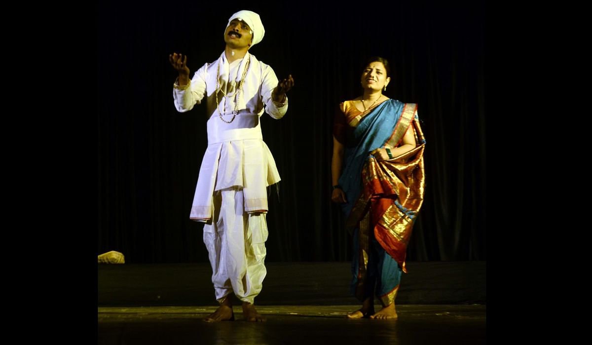 Bhopal: 'Sant Tukaram', the life of Hindu poet Tukaram staged at fest 'Gamak -4