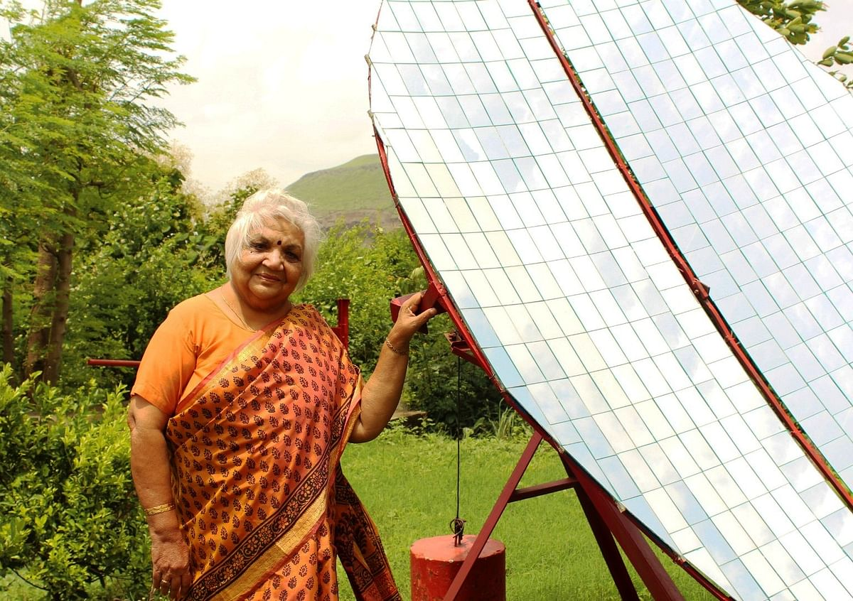 Indore: ​Janak McGilligan feted for her work in solar energy​