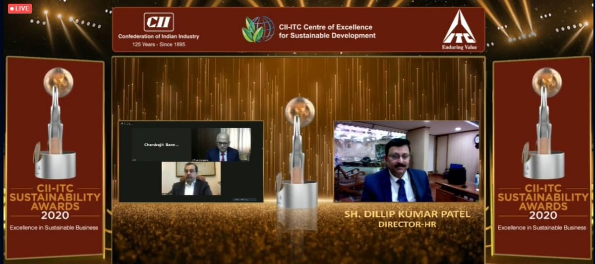 NTPC wins the prestigious CII-ITC Sustainability Awards 2020