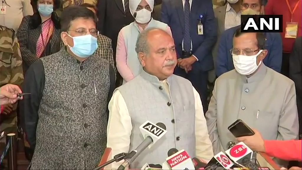 Farmers' Protest: Narendra Singh Tomar assures Modi govt will consider all aspects; next round of talks on Dec 9