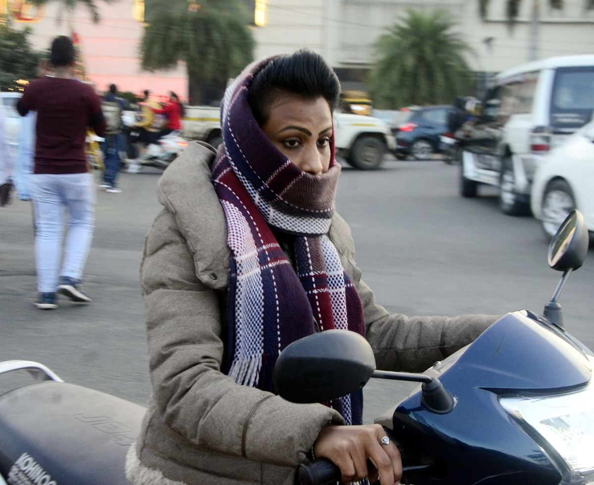 Madhya Pradesh: Biting cold sweeps state capital as day, night temperatures drop