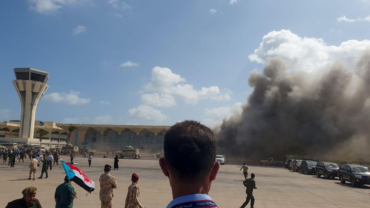Yemen: Massive blast at Aden airport kills 25, wounds 110