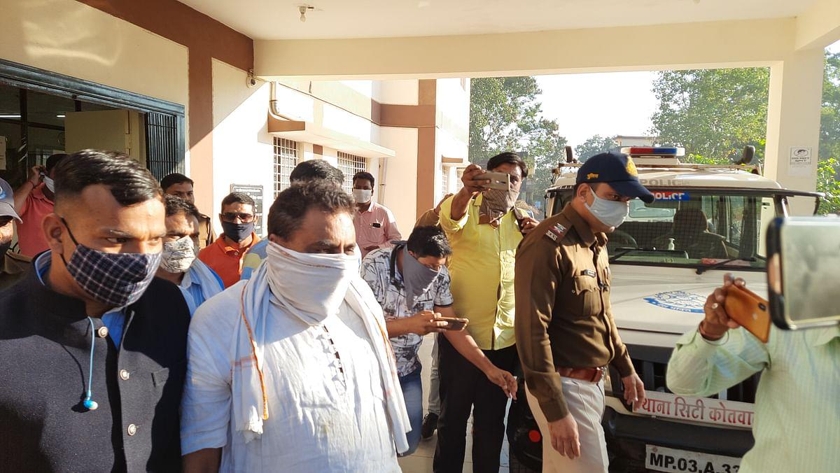 Con Baba under arrest