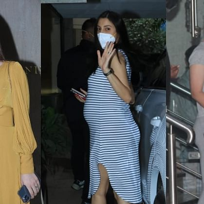 Anushka Sharma, Kriti Sanon, Kangana Ranaut and other Bollywood stars  spotted in Mumbai; see pics