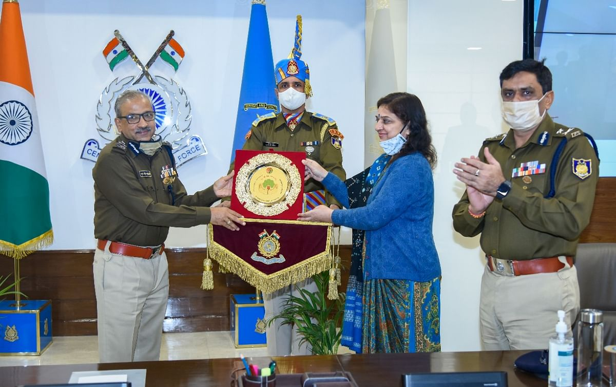 Central Reserve Police Force joins hands with Haryana Government for massive plantation