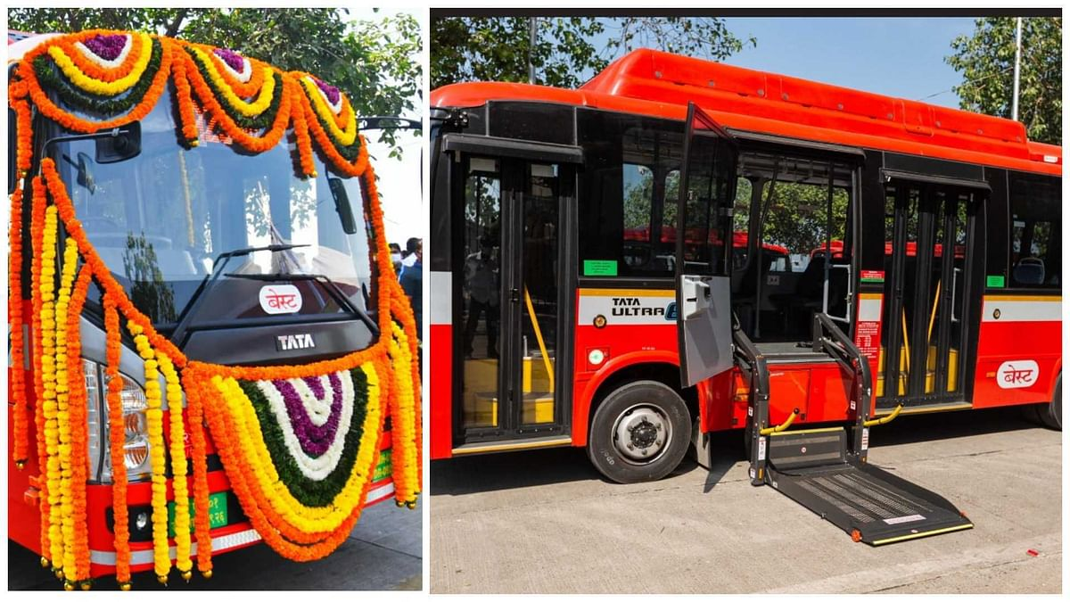 Mumbai: BEST introduces 26 new e-buses with mechanical lift for differently-abled