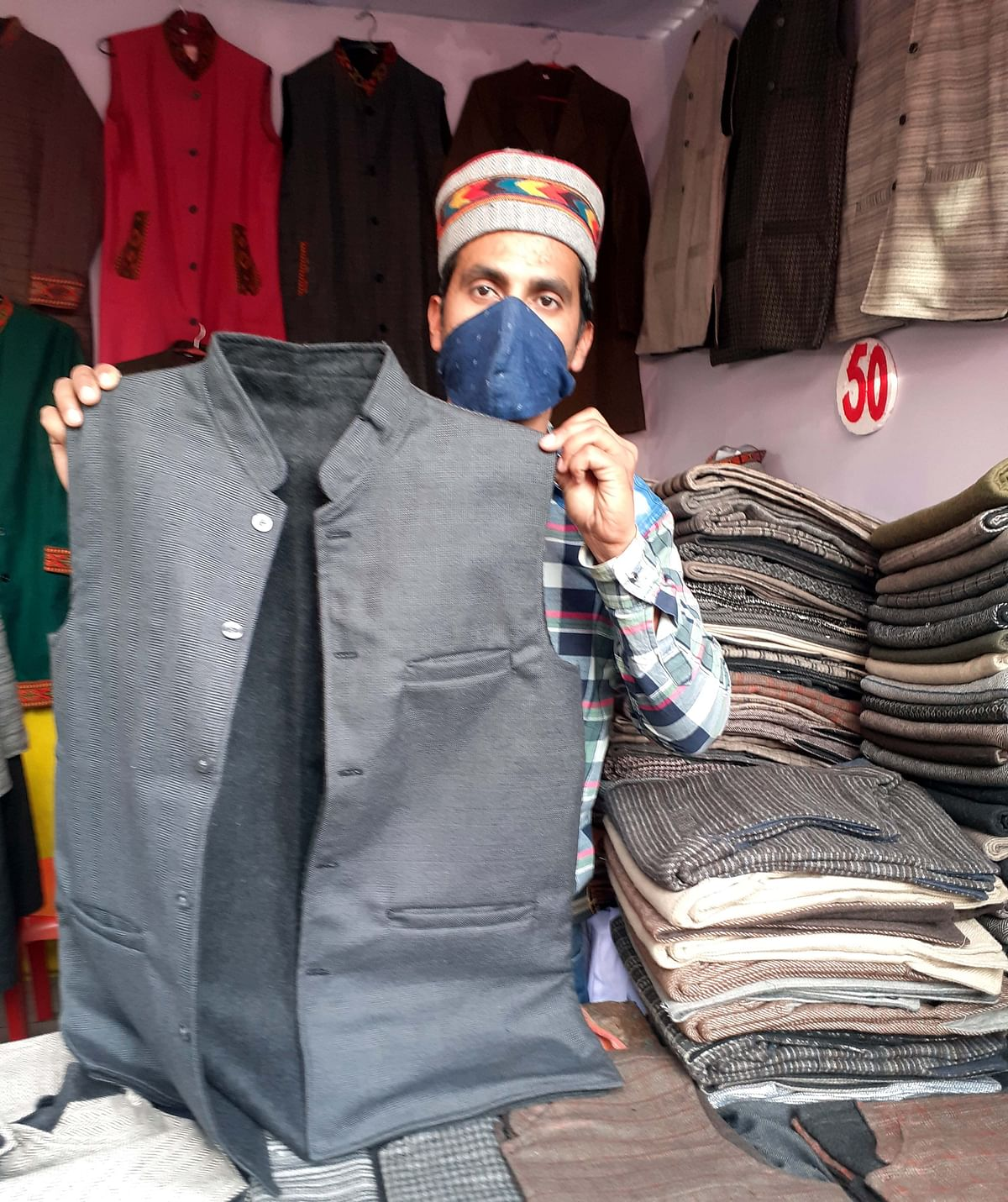 Bhopal: Nehru jackets from HP, Modi jackets from Bihar steal the show at Special Handloom Expo 2020