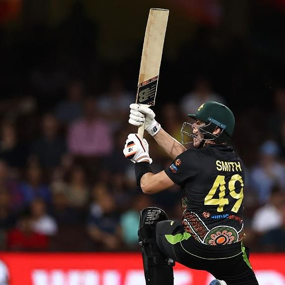 Aus vs Ind 2nd T20I: Wade, Smith help Australia set 195-run target for India