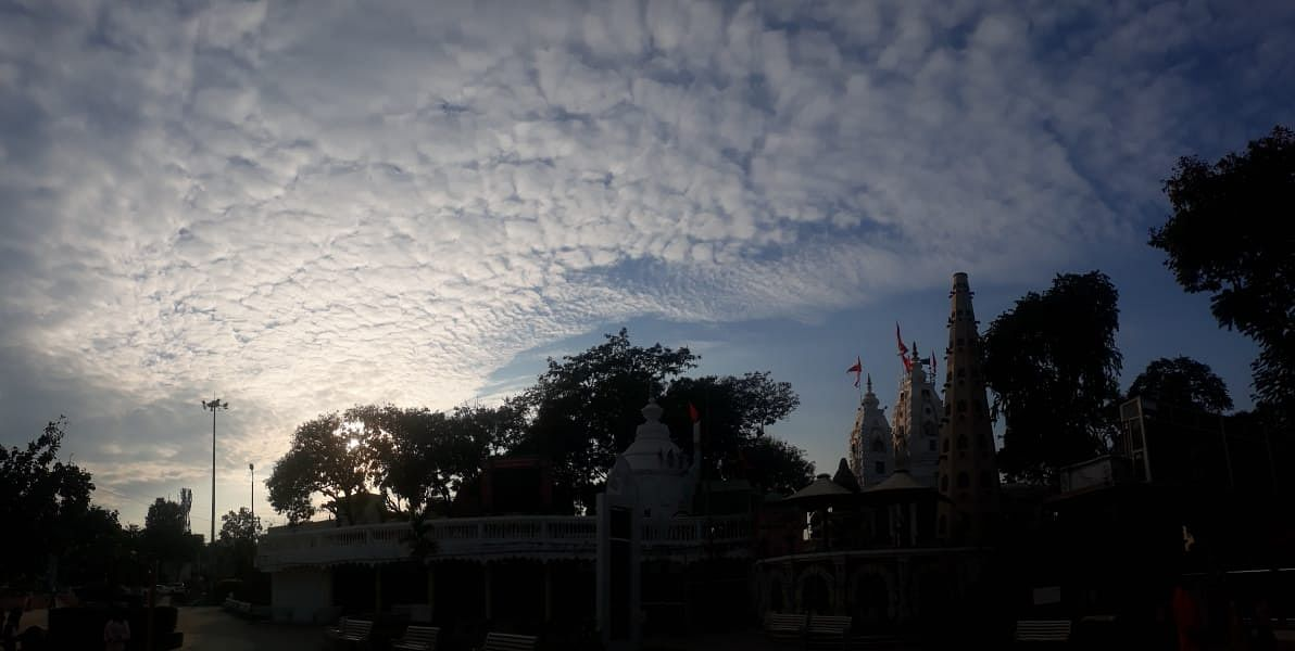 Cloud cover gave some relief to indoreans during the day