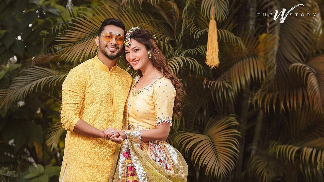 #GaZa celebrations: Gauahar Khan and Zaid Darbar share pics from pre-wedding festivities
