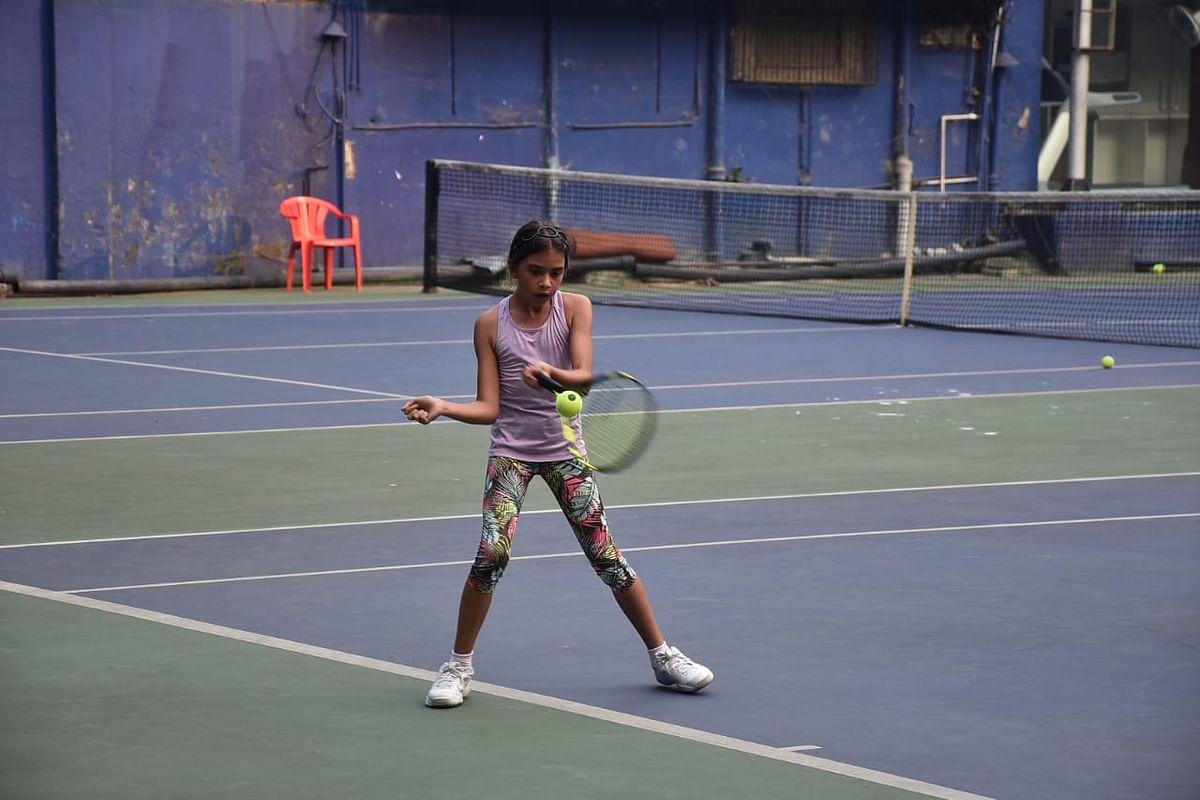 In Pics: Lara Dutta's daughter Saira plays tennis with dad Mahesh Bhupathi