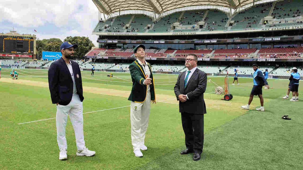 India skipper Virat Kohli won the toss and elected to bat against Australia in the first Test