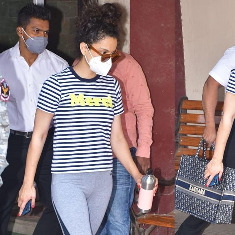 FPJ Fashion Police: Kangana's gym look involves a Rs 900 H&M t-shirt and Rs 2.1 Lakh Dior handbag