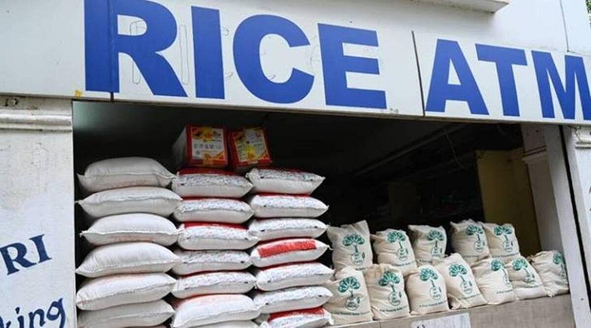 Rice ATMs in Bengaluru