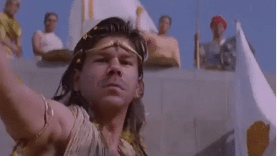 David Warner as King Ashoka: Check out this epic Instagram post of the Aussie opener